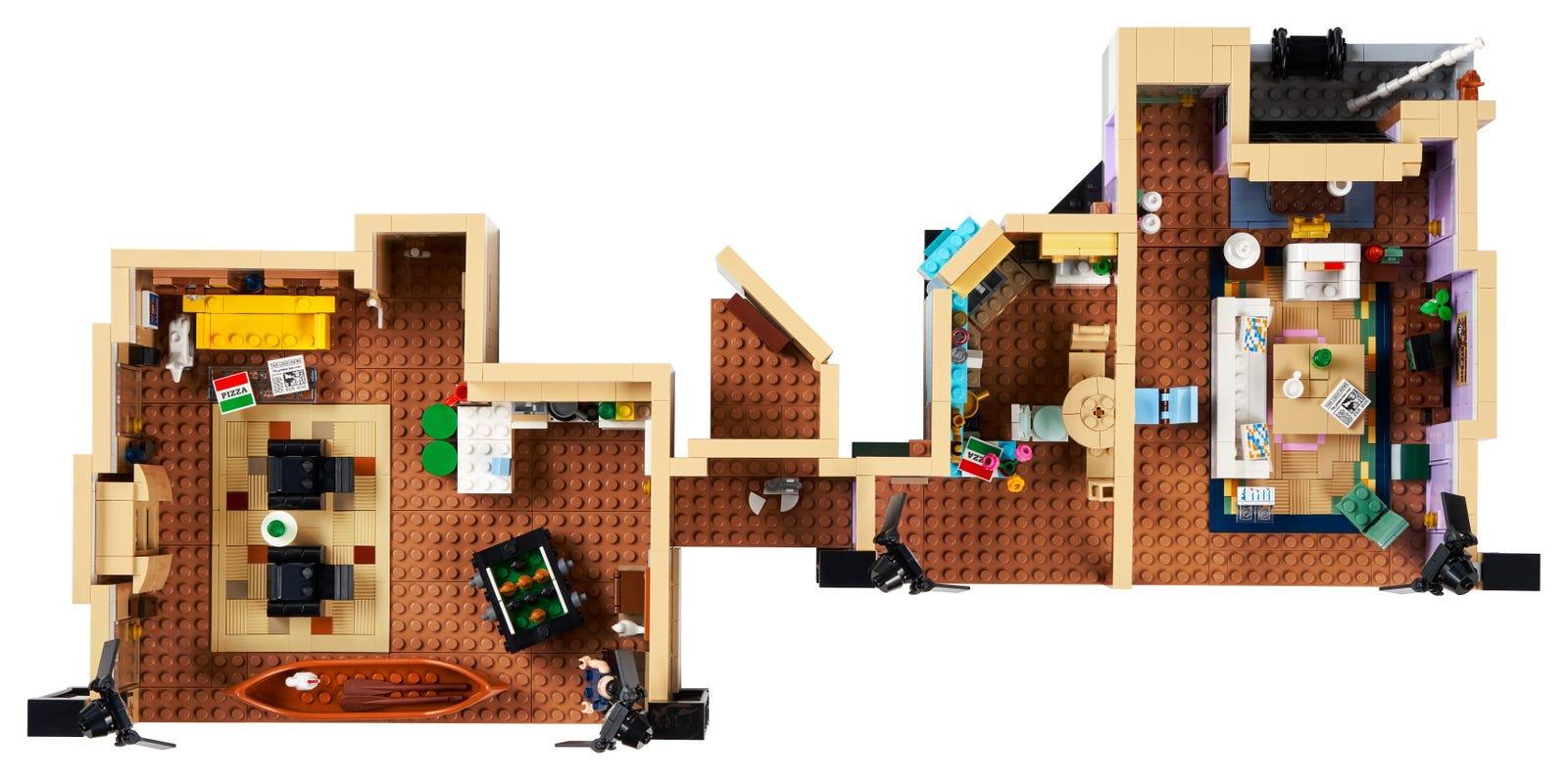 10292_alt4 Lego Friends - Les appartements de Joey et Monica en précommande