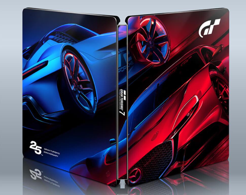 Gran-Turismo-7-steelbook Une édition spéciale 25ème anniversaire pour Gran Turismo 7!