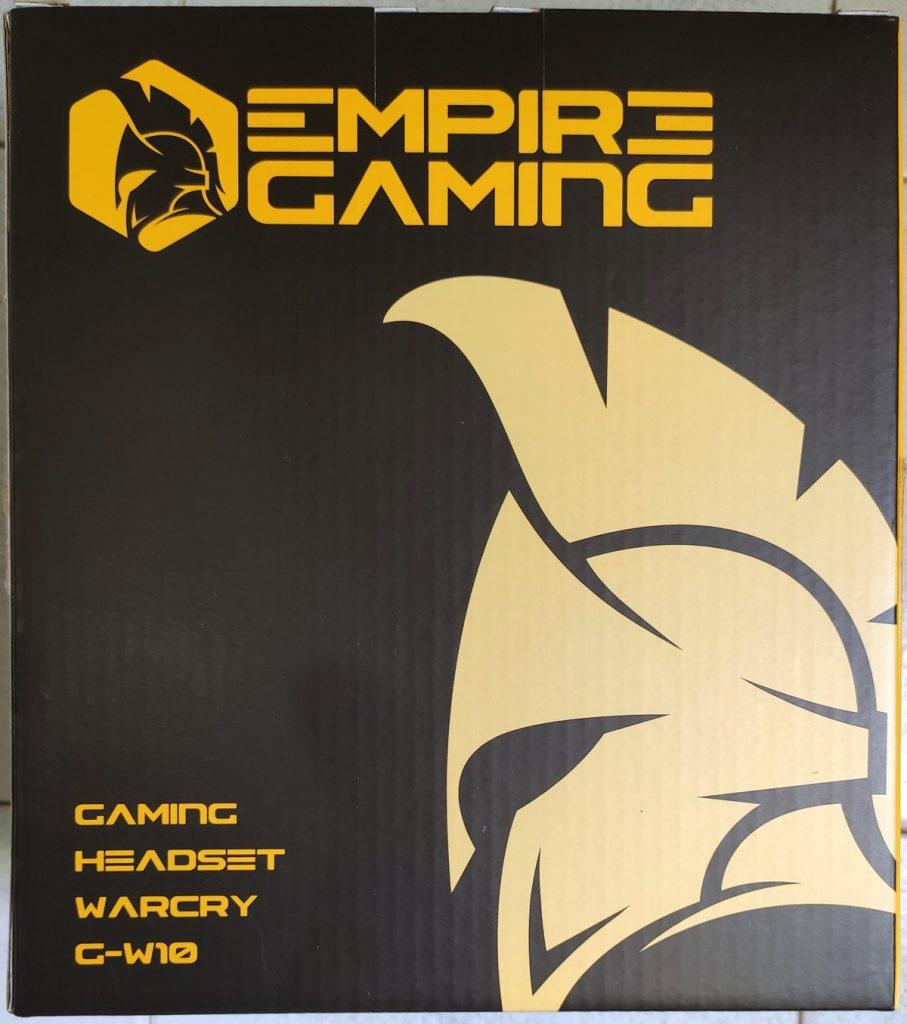 GW10_Emballage2-907x1024 Présentation du casque Warcry G-W10 d'Empire Gaming
