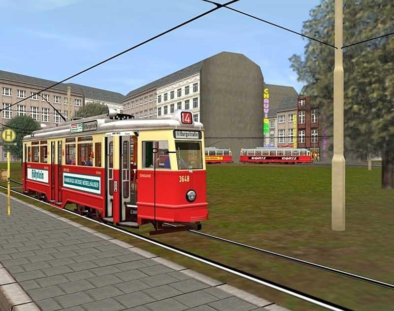Hamburger Straßenbahn Typ V6E