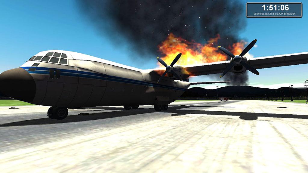 Flughafen-Feuerwehr-Simulator | Games-Guide