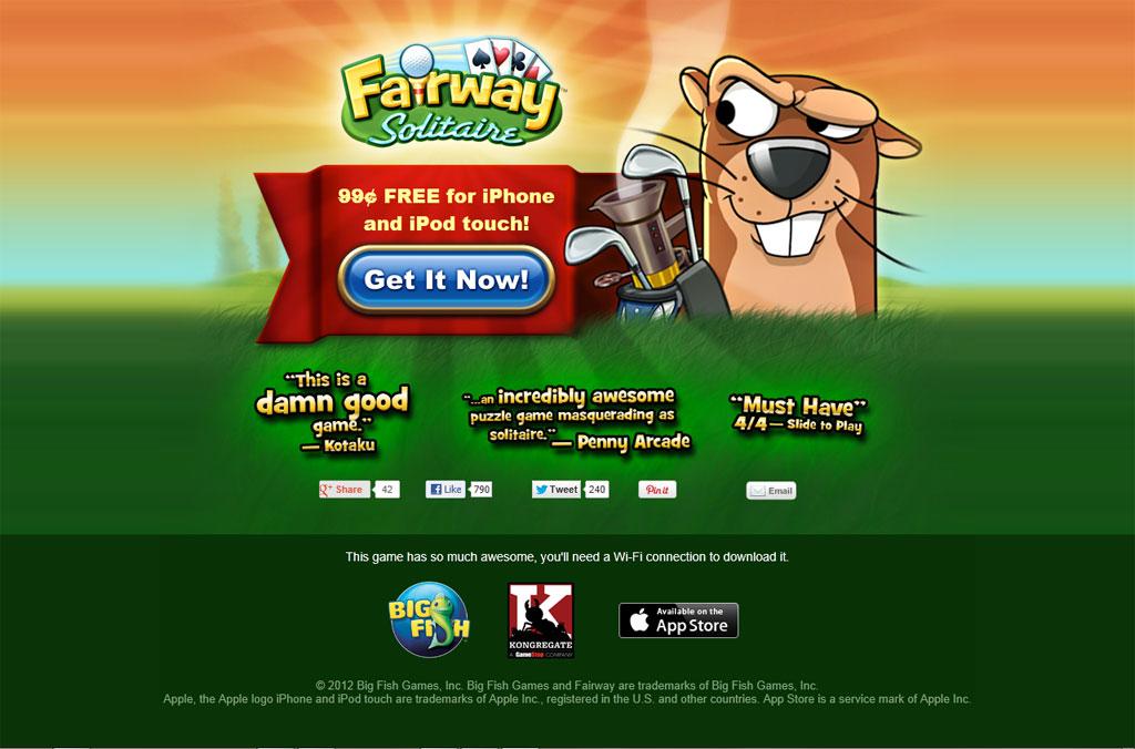 Fairway Solitaire kostenlos für iPhone