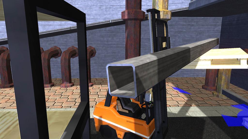 Gabelstapler – Die Simulation