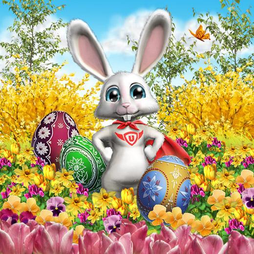 Mit upjers Ostern feiern!