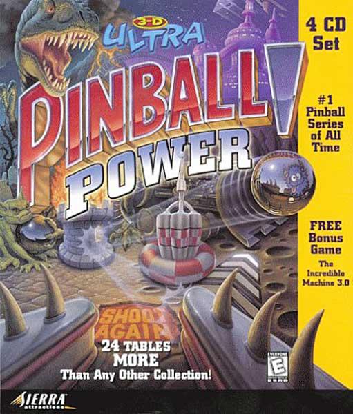 3D Ultra Pinball Power