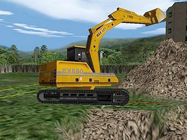 Baumaschinen-Simulator – Vom Aufbau bis zum Abriss