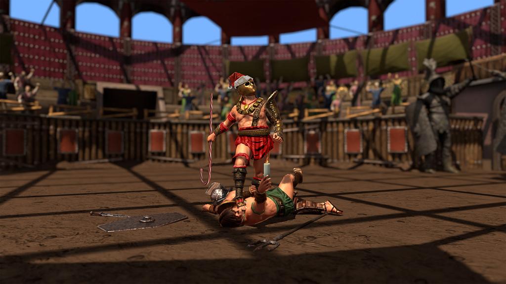Wer Gladiatoren rekrutriert, kann iPad gewinnen