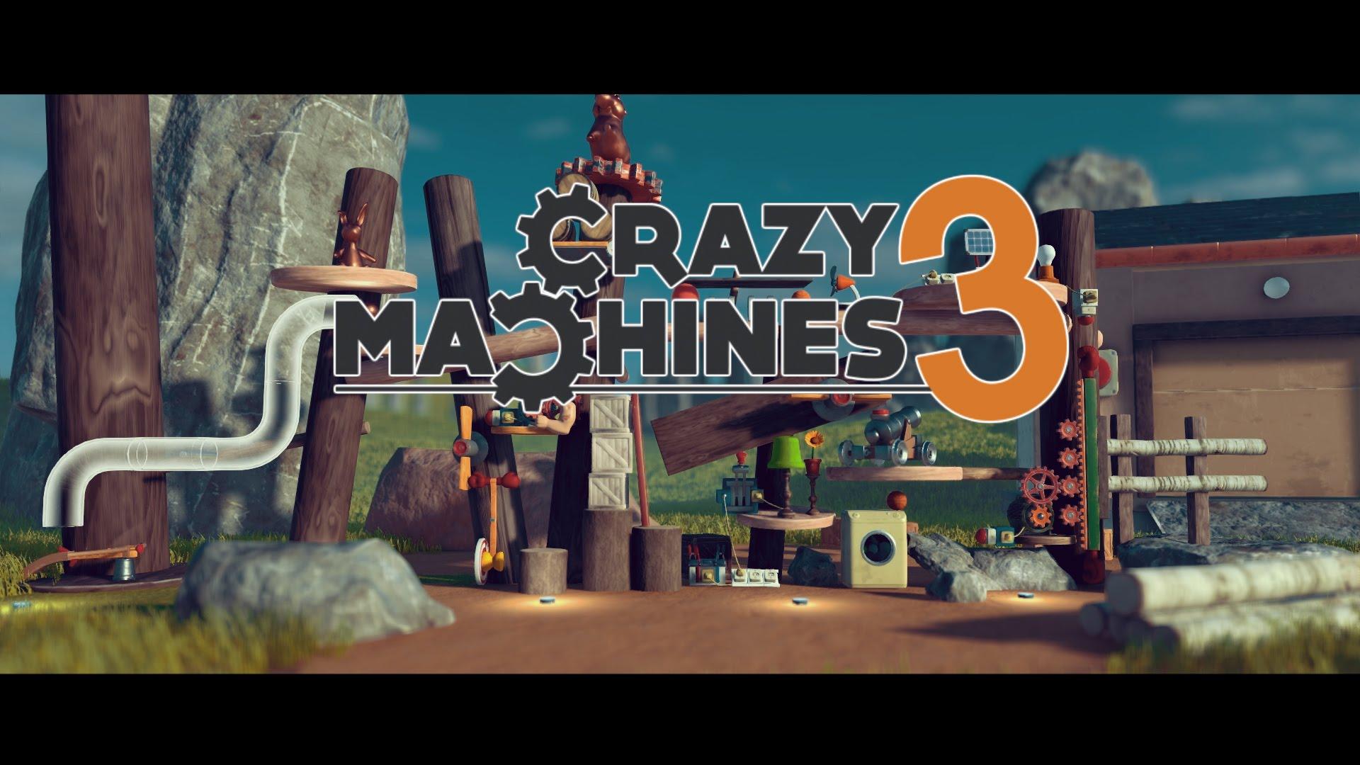 Crazy Machines Teaser verrät Release-Datum