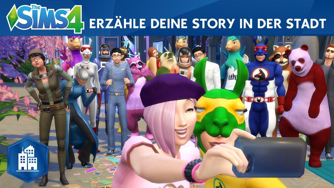 Die Sims erobern das Großstadtleben