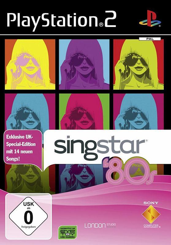 SingStar ´80s UK-Edition