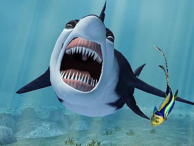 Große Haie – Kleine Fische