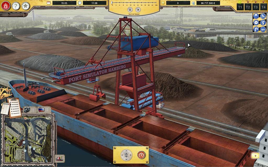 Hafen Simulator 2012 Hamburg