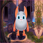 G4K Cute Gray Mouse Escape