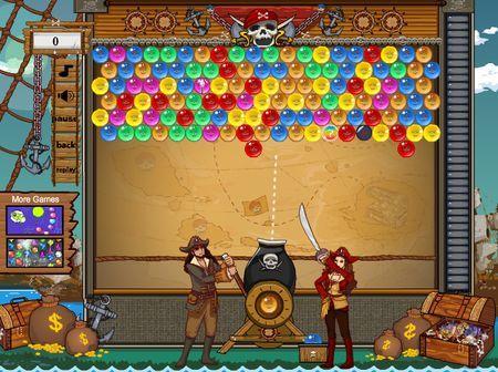 Bubble Bobble Gratis Online Pirate Bobble Games4all
