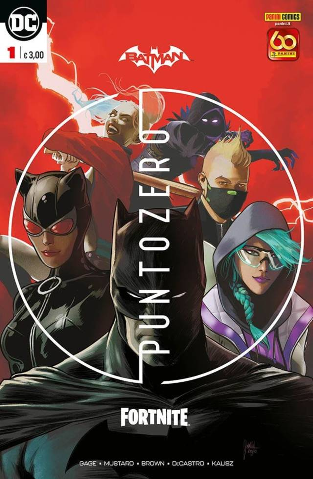 Batman-Fortnite Punto Zero #1 Regular Cover