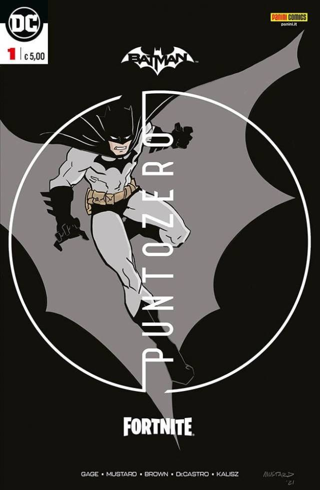 Batman-Fortnite Punto Zero #1 Variant Cover