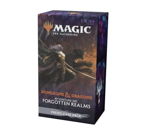 Magic the Gathering Wizards Dungeons & Dragons Prerelease Pack