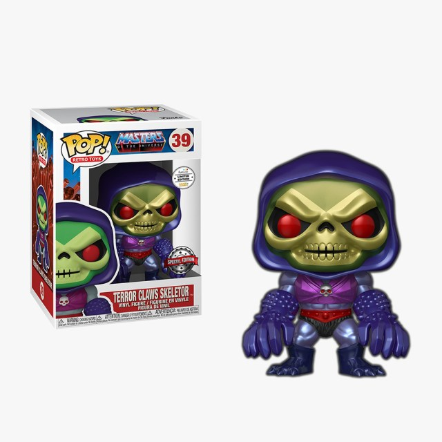 Funko Pop! Exclusives Games Academy Retro Toys 39 Masters of the Universe Terror Claws Skeletor
