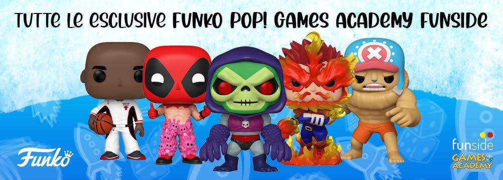 Funko Pop! Games Academy Exclusives Banner