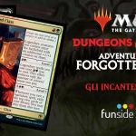 Magic The Gathering Dungeons & Dragons Avventure nei Forgotten Realms – Gli Incantesimi Classe Banner