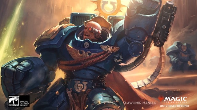 MTG Showcase 2021 Warhammer 40K