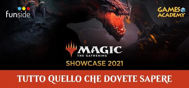 MTG Showcase 2021 Tutto Quello Che Dovete Sapere