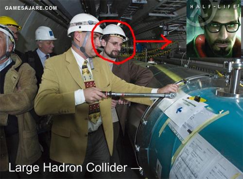 Gordon Freman flipandolo con el LHC
