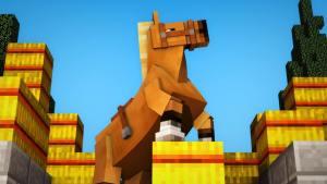 Minecraft-Horse