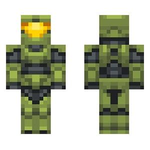 Master Chiefe Minecraft Skin