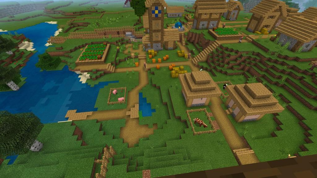 Find a Village in Minecraft