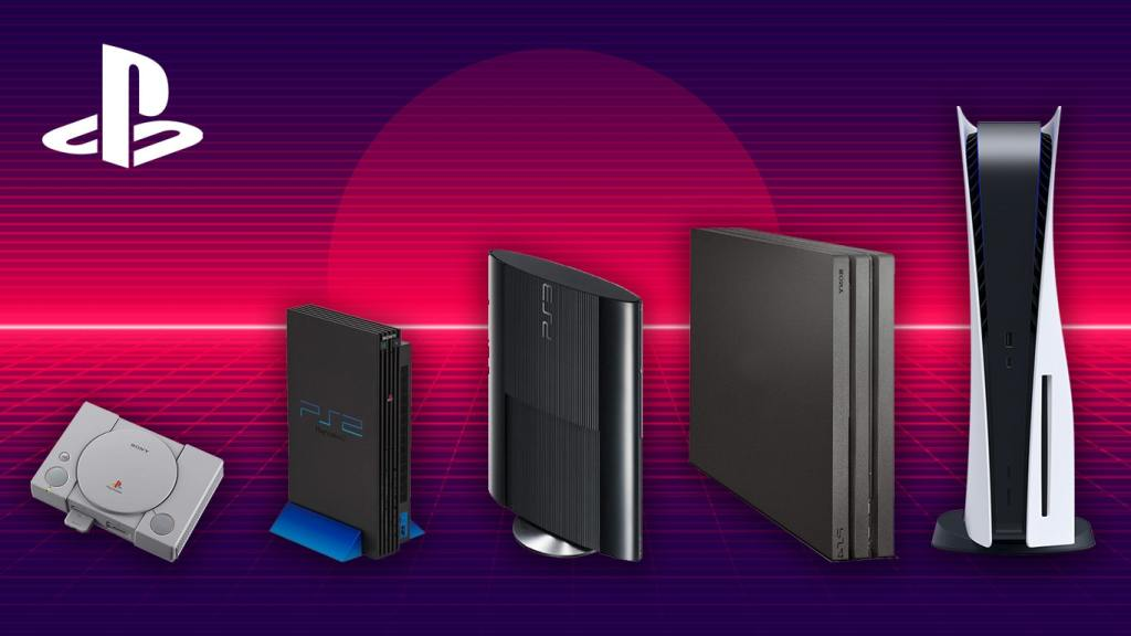 Evolution of the Sony PlayStation