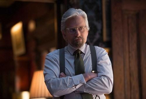 Michael Douglas como o Dr. Hank Pym (Divulgação)