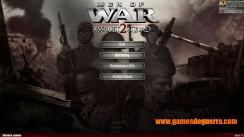 Men of War: Assault Squad 2 oferece mapas skirmish para singleplayer