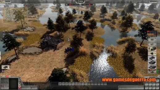 Men of War: Assault Squad 2 tem sistema de bloqueio de unidades por level