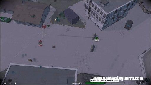 O jogo permite particas Coop, versus e singleplayer.