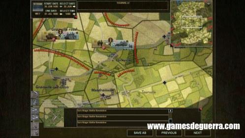 Close Combat: Gateway to Caen campanha mostra divisões
