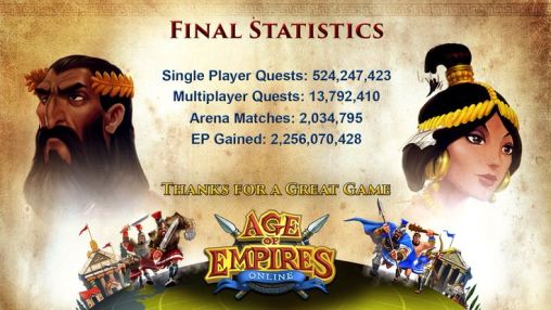 age of empires online acabou