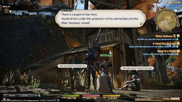 Final Fantasy XIV: A Realm Reborn - Interfaz 2