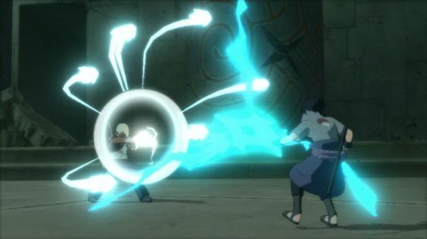Naruto Shippuden: Ultimate Ninja Storm 3 Darui vs Sasuke