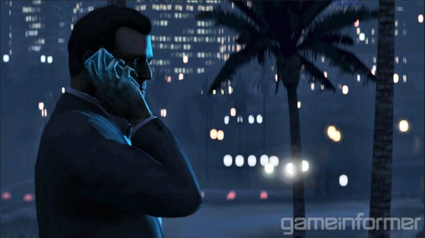 Grand Theft Auto V - Michael (Gameinformer)