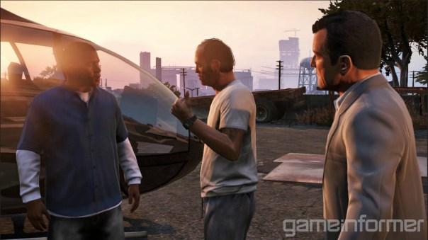 Grand Theft Auto V - Puntos de vista diferentes
