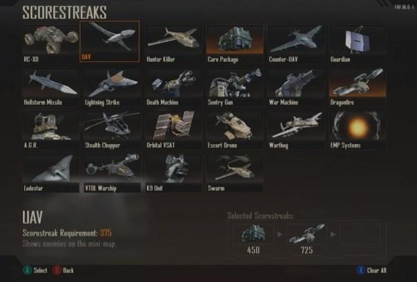 CoD: Black Ops II Rachas