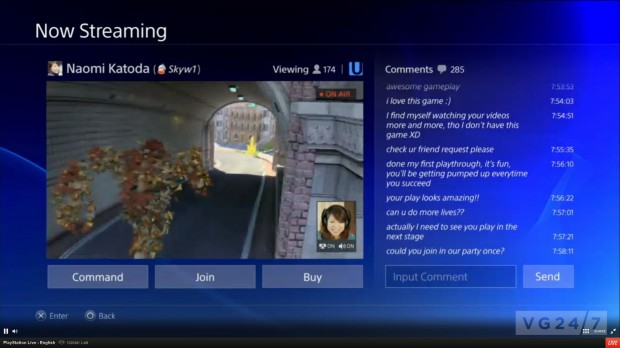 Red social y streaming en la nueva Sony PlayStation 4