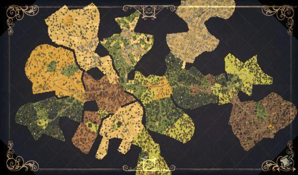 Mapa Don't Starve Primavera