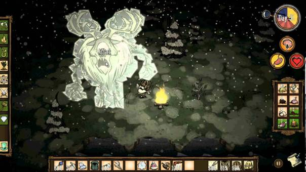 Deerclops Don't Starve