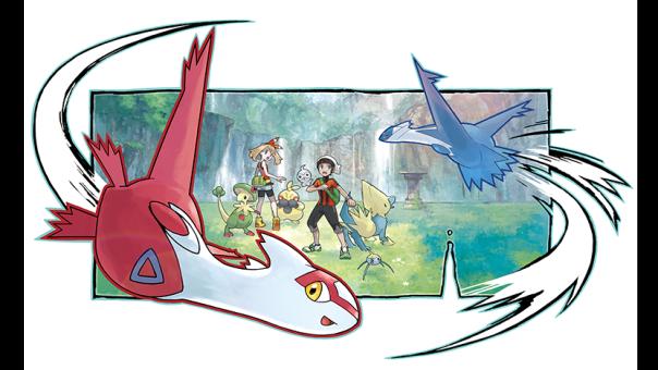 Isla del sur, Pokemon, Latias y Latios