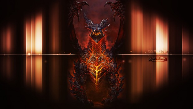 Wallpaper Hearthstone Deathwing Alamuerte
