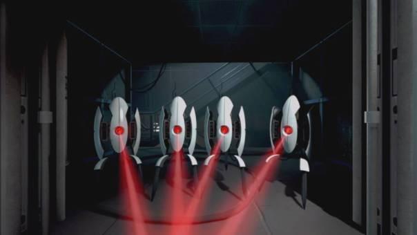 Orquesta de torretas en portal 2