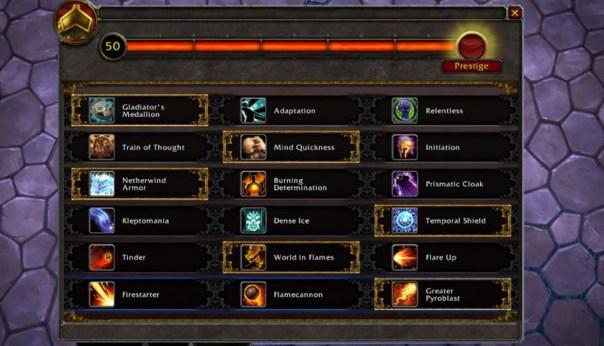 Nuevos talentos específicos para PvP