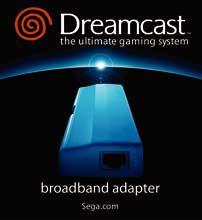 BroadbandEthernet Adapter For Dreamcast DC Three Stars